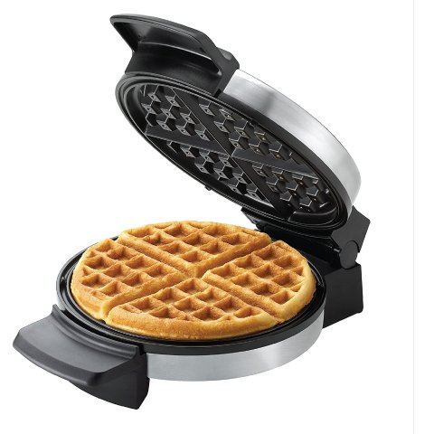 $19.99BLACK+DECKER Belgian Waffle Maker, Stainless Steel