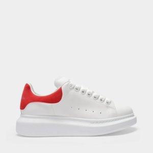Alexander McQueen运动鞋 红尾