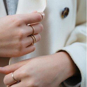 最高全场7.5 折时尚珠宝AUrate New York 品牌半年大促
