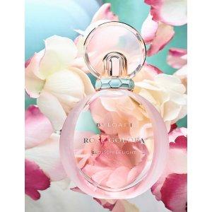 Bvlgari海报同款欢沁玫香香水