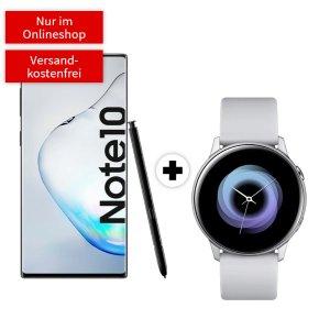 包月电话+6GB LTE黑五价:一次性购机费送三星Galaxy Note10+ Watch Active 40mm