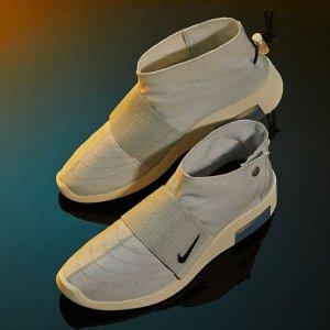 27日美东10点整 $170+包邮新品预告:Air Fear of God Moc Pure Platinum 联名款运动鞋