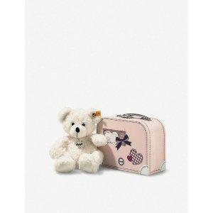 泰迪熊和手提箱 28cm