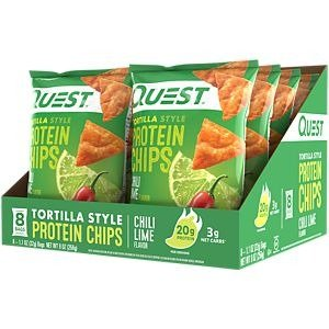 QUEST NUTRITIONQuest Tortilla Protein Chips - CHILI LIME (8 Bags) by Quest Nutrition at the Vitamin Shoppe