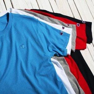 $10+包邮白菜价:Champion Classic 纯色休闲运动T恤促销 多色可选
