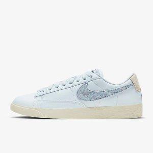 正价8折 £46收新款蓝条高帮Nike 4周年大促 Blazer专场  复古宝藏板鞋小白鞋 时尚博主必备