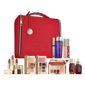 美國直郵¥1279 庫存少Estee Lauder 節日限量禮盒 暖色款 含12件正裝