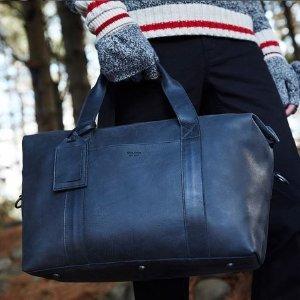 额外7折 新品包包无门槛最后一天:Roots 新品皮具包包折扣热卖 收马鞍包、零钱包