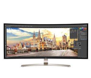 £929 史低价限今天:LG 38UC99 37.5英寸曲面超宽屏显示器 21:9