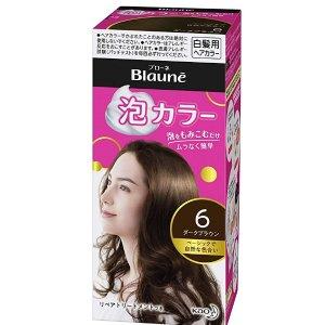 3瓶到手价约 $17.9/盒花王Blaune 泡沫染发膏  在家轻松遮白发