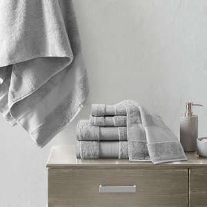 Designer Living Turkish 6 Piece Bath Towel Set
