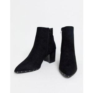 New Look铆钉装饰踝靴