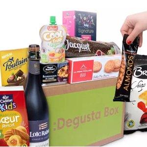 4.9折 €7.99(原价€15.99)Degustabox 惊喜零食盲盒 含14种精选品牌食品 物超所值