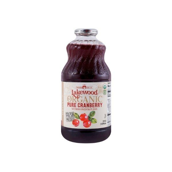 LAKEWOOD 纯蔓越莓果汁 95%有机果汁 907g