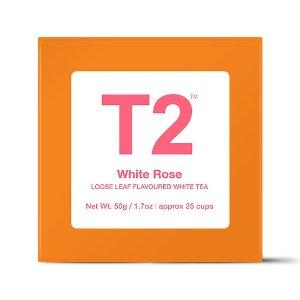 T2 tea养颜白玫瑰 | T2 TeaAU