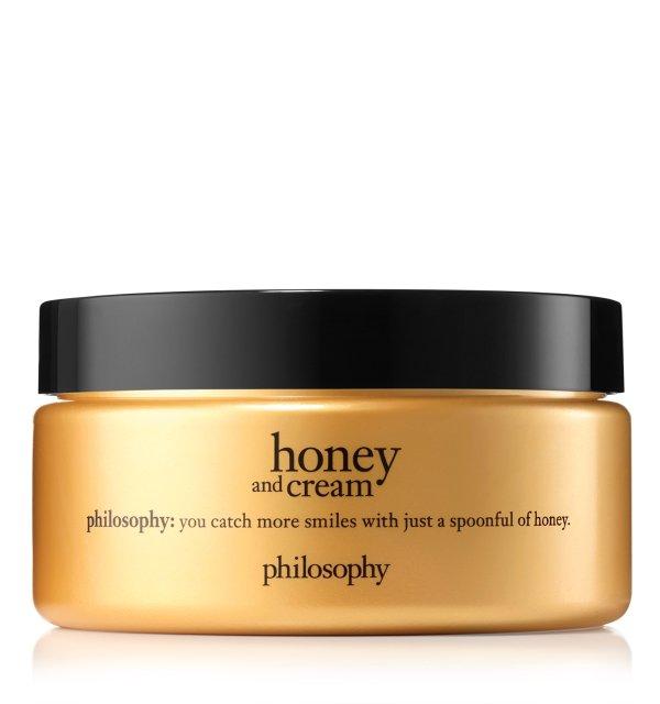 蜂蜜身体乳