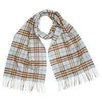 Burberry 薄荷蓝围巾