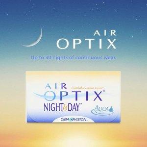 $40.80 (原价$51) 不需处方最后一天:LensPure Air Optix 月抛隐形眼镜 6片 睡觉可以戴着睡