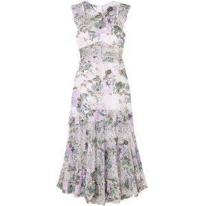 Alice McCallOh So Lovely floral-print mesh midi dress