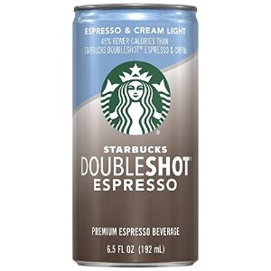 StarbucksDoubleshot, Espresso + Cream Light, 6.5 Ounce, 12 Pack