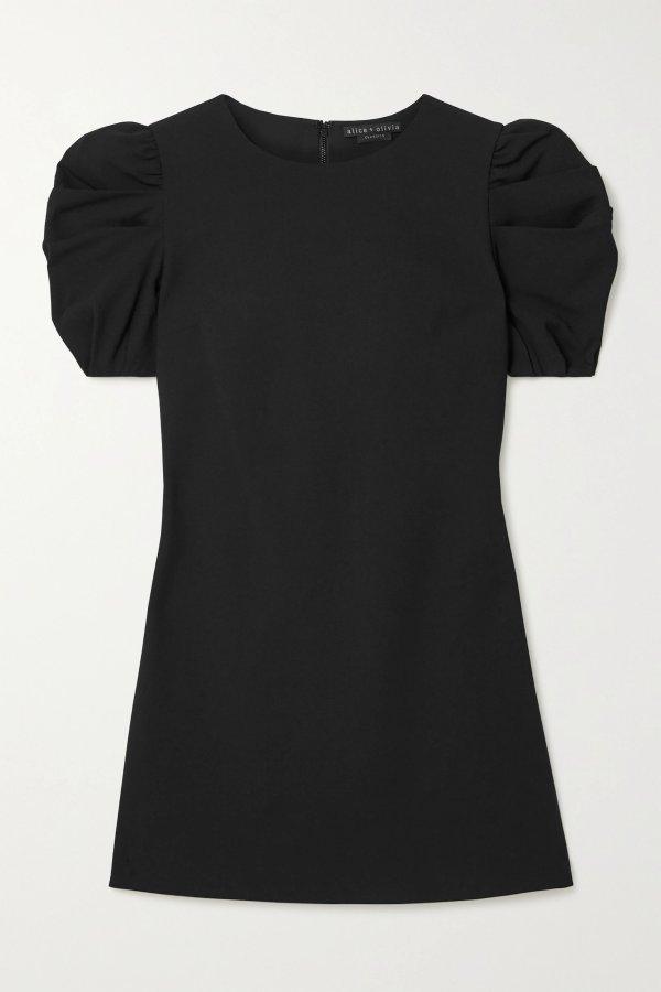 Hanita 泡泡袖mini裙
