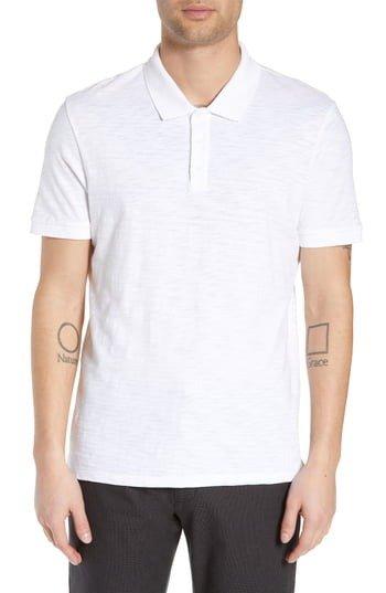 Slub Slim Fit Polo衫