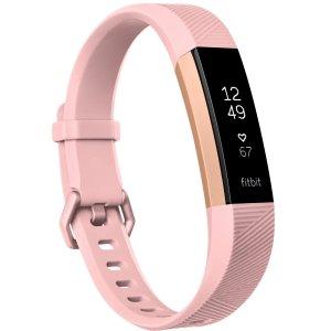 $79.99Fitbit Alta HR 心率监测手环 小号粉色款