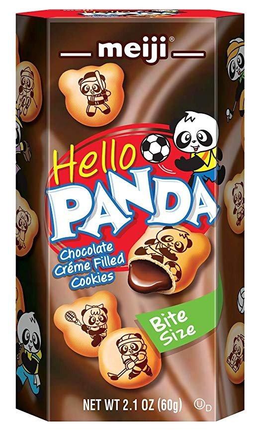巧克力夹心熊猫小饼干 10盒装