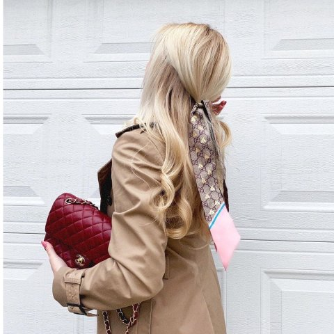 种草合集 €130收限定款Gucci 性价比超高小领巾 春夏必备点睛之笔