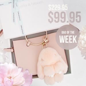 $99.95(原价$229.95)Belle & Bloom 每周精选美包促销