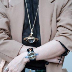 8折!水钻小土星项链£144Vivienne Westwood 最美款式热促 收珍珠、水钻等爆款搭配