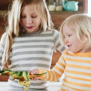 $30起Hanna Andersson 儿童有机棉睡衣促销 长袖长裤秋款上市