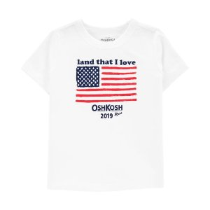 Oshkosh20% off with $40 purchase B'gosh Family Matching Tee for Toddlers