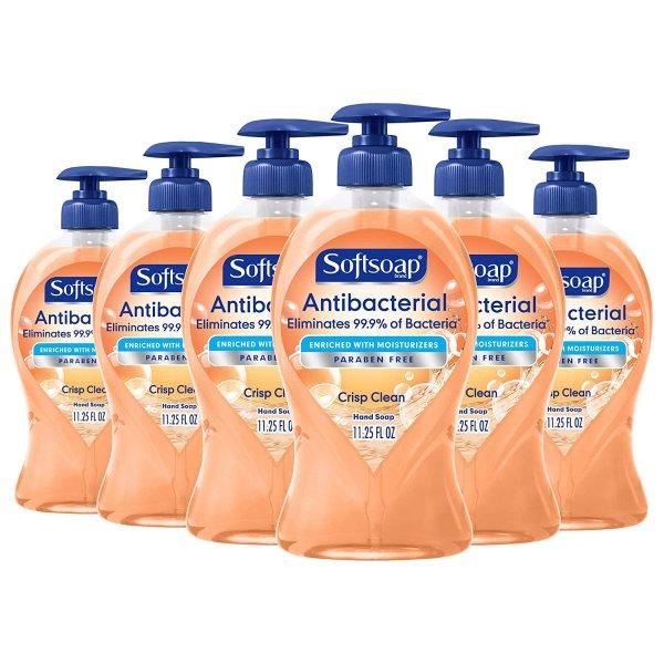 Softsoap 抗菌洗手液 11.25oz  6瓶