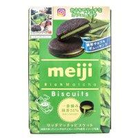 Meiji 抹茶奶油饼干