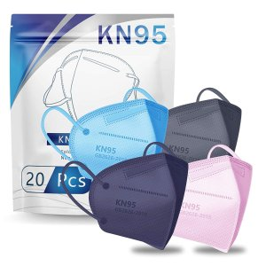 Hotodeal Chengde KN95 口罩 20片 4种颜色包装