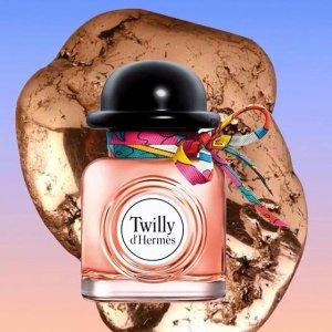 买爱马仕香水送同款爱马仕香水7.5ml爱马仕香水Twilly系列夏日热卖 你的气质比爱马仕还高贵