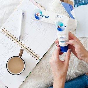 实惠装3支低至$4.97Crest 多款牙膏促销 美白修护任选