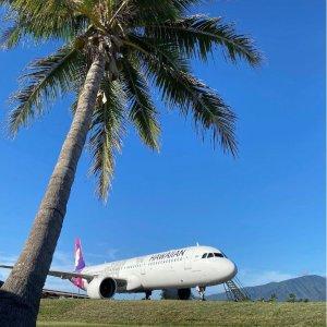 加州出发往返机票$298起夏威夷航空 美国本土到夏威夷精选往返机票优惠