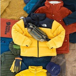 低至7折 正价8折Moosejaw官网 北脸、始祖鸟等户外品牌促销  泰迪熊外套$67