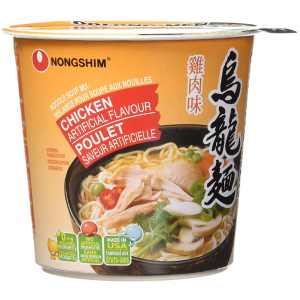 $4.54(原价$10.39)Nongshim 农心乌龙面6杯装 鸡肉味
