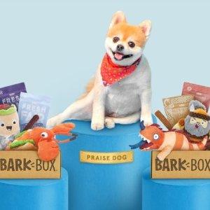 首月仅$5Barkbox 狗狗神秘订阅礼盒 狗狗专属节日礼盒