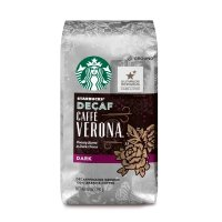 Starbucks 无咖啡因 深度烘焙咖啡粉 12oz