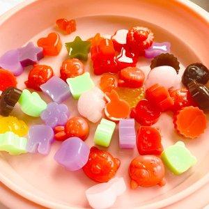 小熊软糖3件套模具$10.99硅胶模具 糖果巧克力制作 夏日可爱冰块 超萌小动物水果造型
