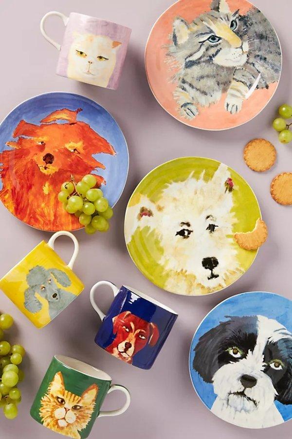 可爱动物餐盘