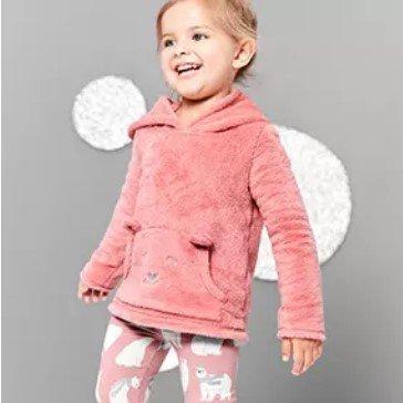 小童毛绒卫衣+打底裤