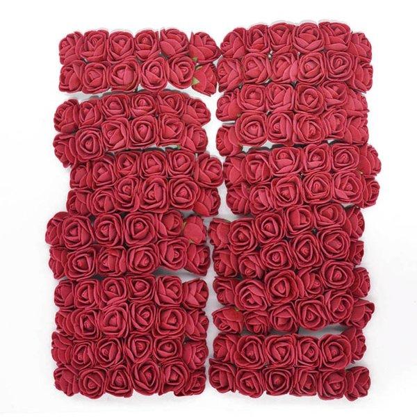 100片 装饰玫瑰