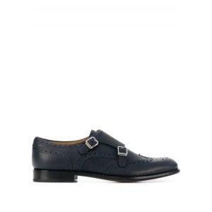 Church's雕花小皮鞋