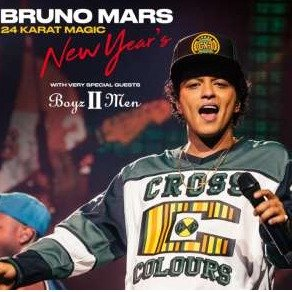 Concerts From $77.9Las Vegas New Years's Weekend