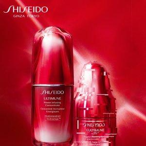 $32收超值白胖子套装最后一天:【Sephora 8折盛典】Shiseido 资生堂护肤彩妆热卖